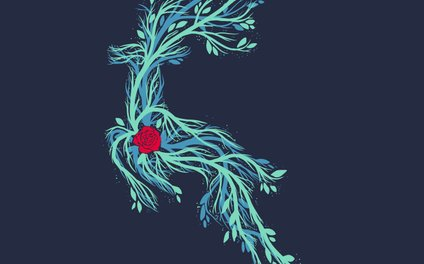 Art Print - Spirit Vines (Dark Blue) - Tobe Fonseca