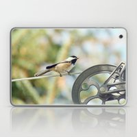 Chick on a line Laptop & iPad Skin