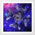 From The Outer Reaches Art Print