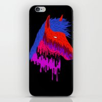The Psychedelic Melt iPhone & iPod Skin