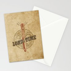 Steampunk Sonic Screwdriver Stationery Cards