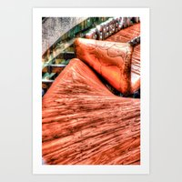 Copper Top Art Print