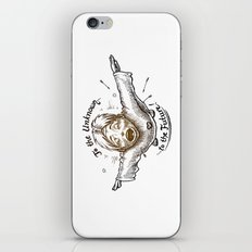 To The Unknown - To The Future iPhone & iPod Skin