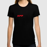 happiness Womens Fitted Tee Black SMALL