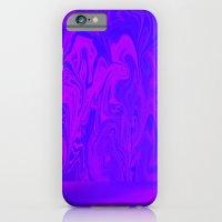 Purple and Pink swirls  iPhone 6 Slim Case