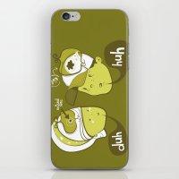 Pea Brain Patty And Bird… iPhone & iPod Skin