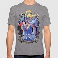 Zombie Cinderella Mens Fitted Tee Tri-Grey SMALL