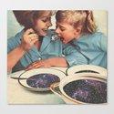 Spacefood Canvas Print