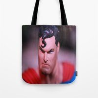 Someone Pissed In Superman's Wheaties Tote Bag