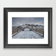 Saltburn by the Sea Framed Art Print