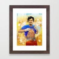 Manny Pacquiao - Pound 4… Framed Art Print