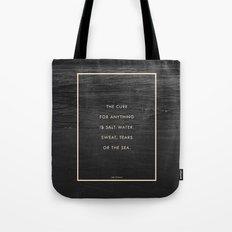 Salt Water Tote Bag