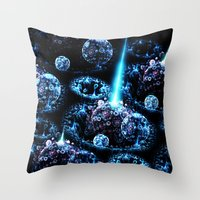 Stand Alone Complex Throw Pillow