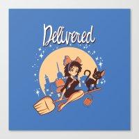 Delivered Canvas Print