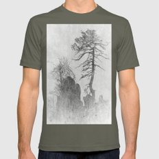 tree Mens Fitted Tee Lieutenant SMALL