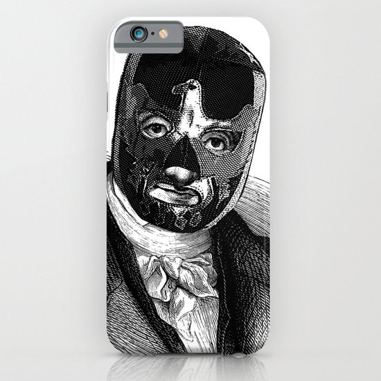 WRESTLING MASK 7 iPhone & iPod Case