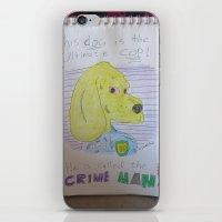 Bootleg Series: Crime Ma… iPhone & iPod Skin
