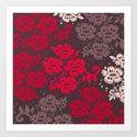 Floral Pattern #12 Art Print