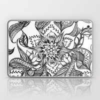 Modern Black And White F… Laptop & iPad Skin