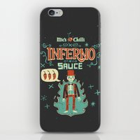 Inferno iPhone & iPod Skin