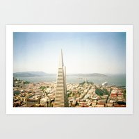 Transamerica Pyramid, Sa… Art Print