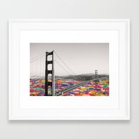 Framed Art Print featuring It's in the Water by Bianca Green