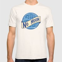 No Moon Brewery Mens Fitted Tee Natural SMALL