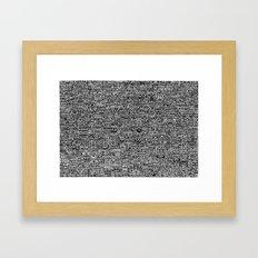 Polis Framed Art Print