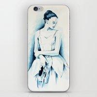 Ballerina Dancer iPhone & iPod Skin