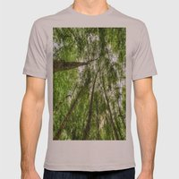 Nature Reaching For The Sky Mens Fitted Tee Cinder SMALL