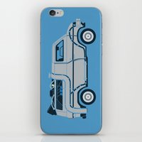 Back To The Future Delor… iPhone & iPod Skin