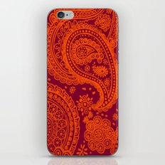 Hokie Paisley iPhone & iPod Skin