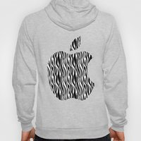 Zebra Print Apple Hoody