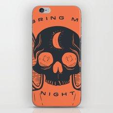 Kill the Sun, Bring Me Night iPhone & iPod Skin