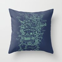 Chateau Ambulant Throw Pillow