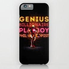 Iron Man: Genius Billionaire Playboy Philanthropist iPhone 6 Slim Case