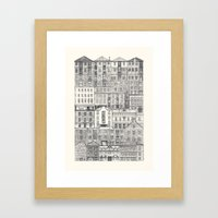 Crowded #3 'Salamanca' Framed Art Print