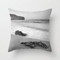 Half Moon Beach. BN Throw Pillow
