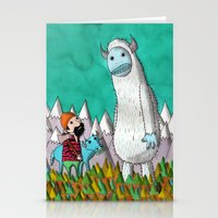Paul Bunyan About To Get His Ass Handed To Him..... Stationery Cards