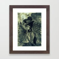 Whitechapel by Gaslight (First Version) Framed Art Print