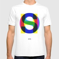 Soho Mens Fitted Tee White SMALL