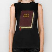Rock & Roll Bible Biker Tank