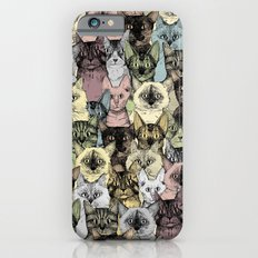 just cats retro iPhone 6s Slim Case
