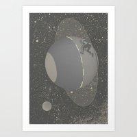 Skate Planet Art Print