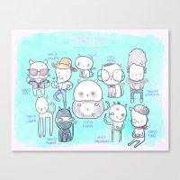 Gaticos Canvas Print