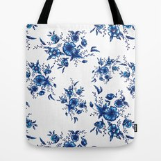 FOLK FLOWERS Tote Bag