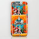 the Cryptid Crew VS Uncle Corny Kaiju iPhone & iPod Case