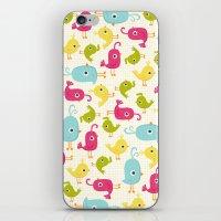 Sweet Tweets iPhone & iPod Skin