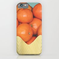 iPhone & iPod Case featuring Mandarins by Hilary Walker