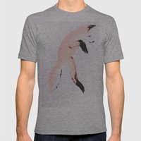 Leap Mens Fitted Tee Athletic Grey SMALL